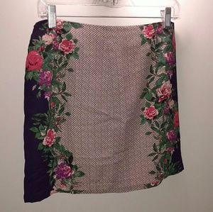 Forever 21 floral mini skirt new
